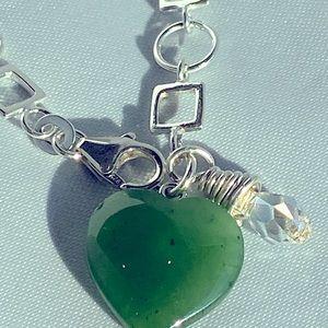 Rhema Jewels BC Jade SWAROVSKI Bracelet